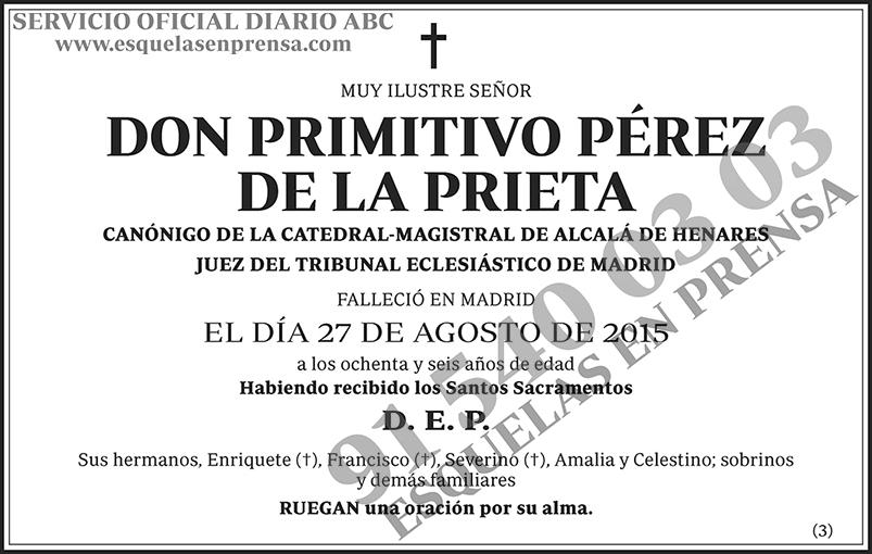 Primitivo Pérez de la Prieta